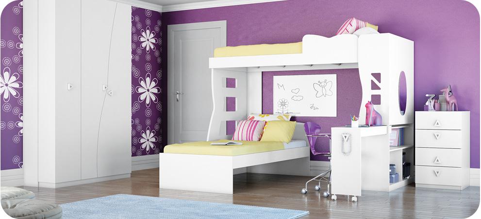 Tapete Para Quarto Infanto Juvenil ~   quartos completos juvenil meninos e meninas quarto infanto juvenil
