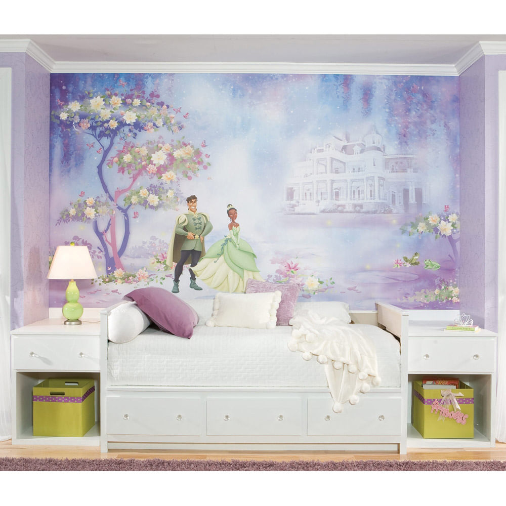 mural a princesa e o sapo disney princesas roommates pics photos castle mural wallpaper murals