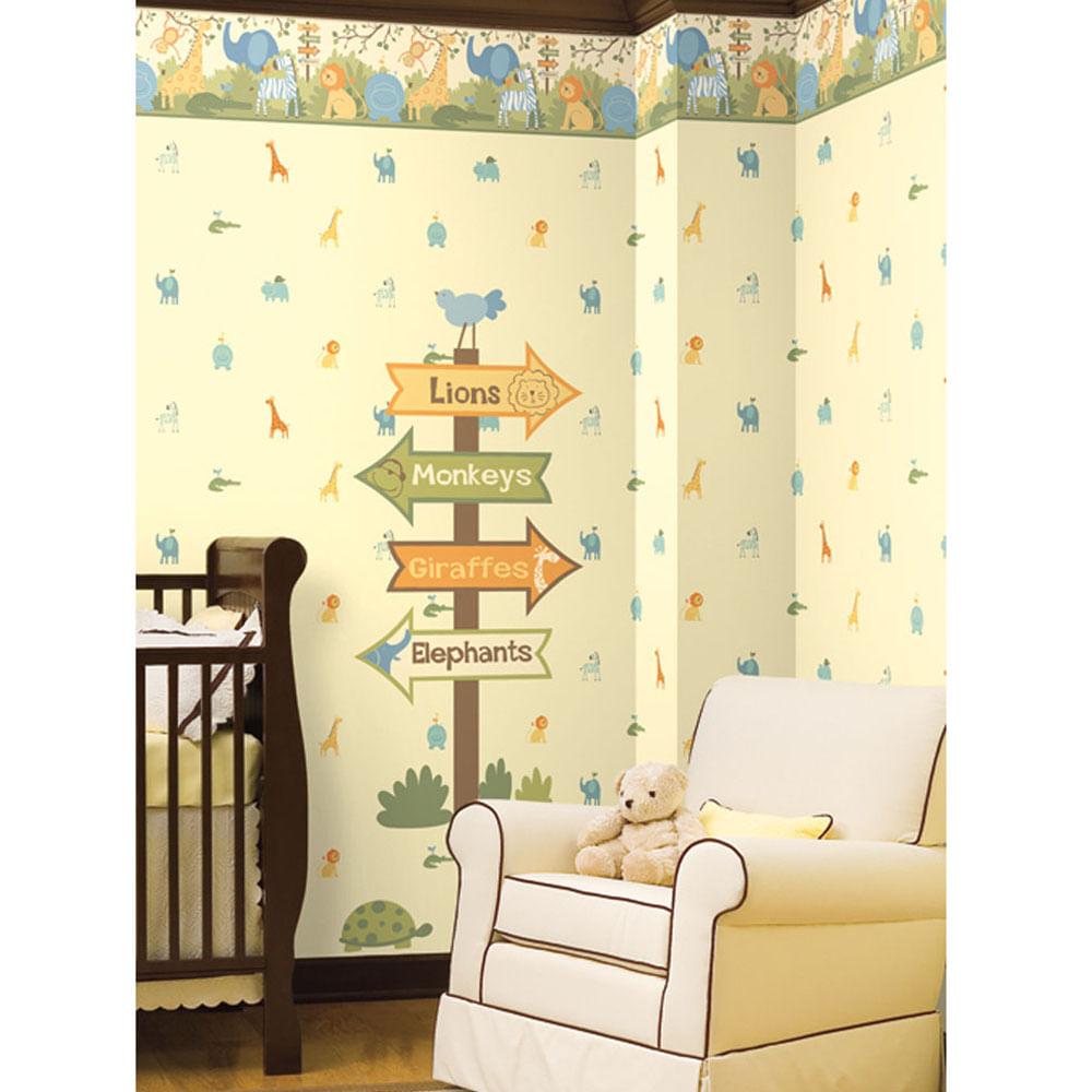 Papel de parede para quarto infantil importado yazzic for Papel de pared infantil
