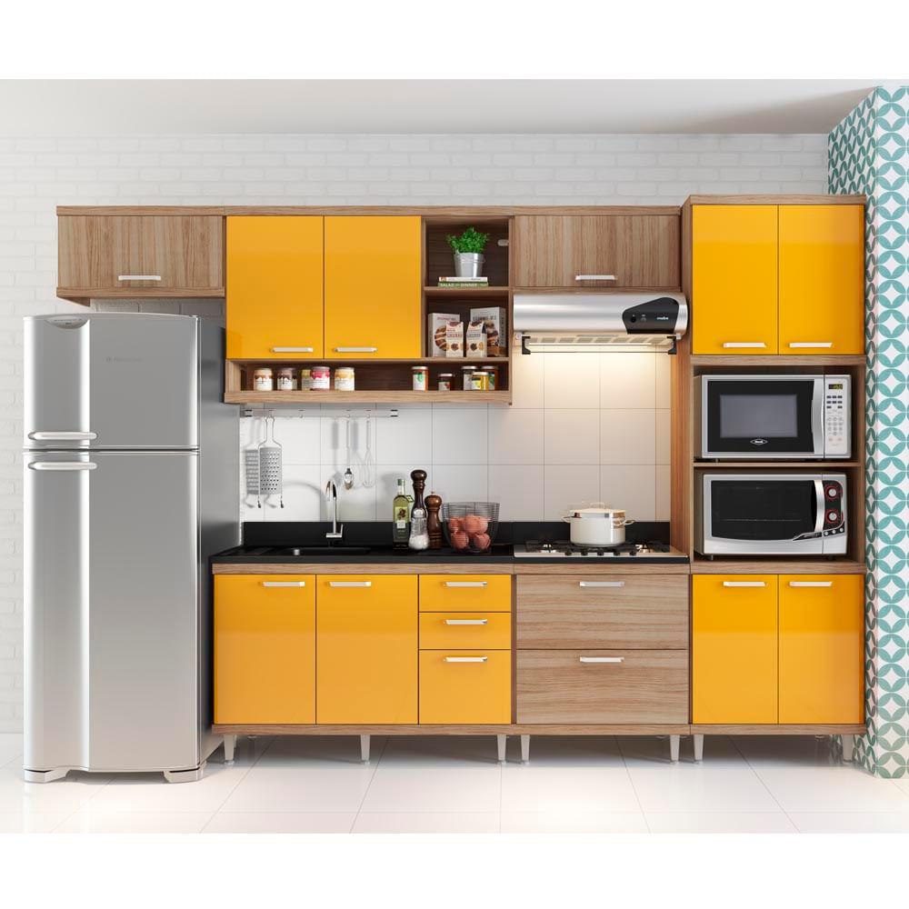 Cozinha Compacta Na Promocao Beyato Com V Rios Desenhos Sobre
