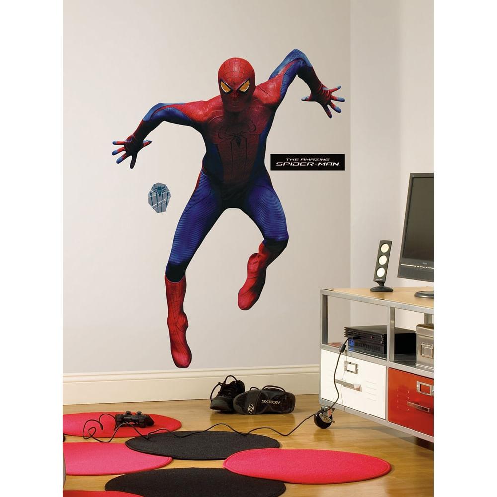 Adesivos De Parede Infantil Homem Aranha ~ Adesivo Homem Aranha 4 Gigante Removível Roommates