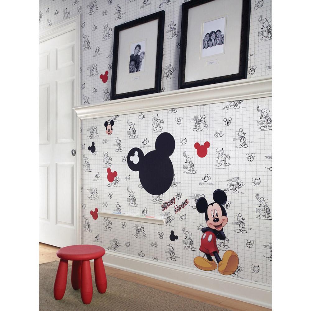 Papel de Parede Mickey Mouse esboço Disney  York  CasaTema