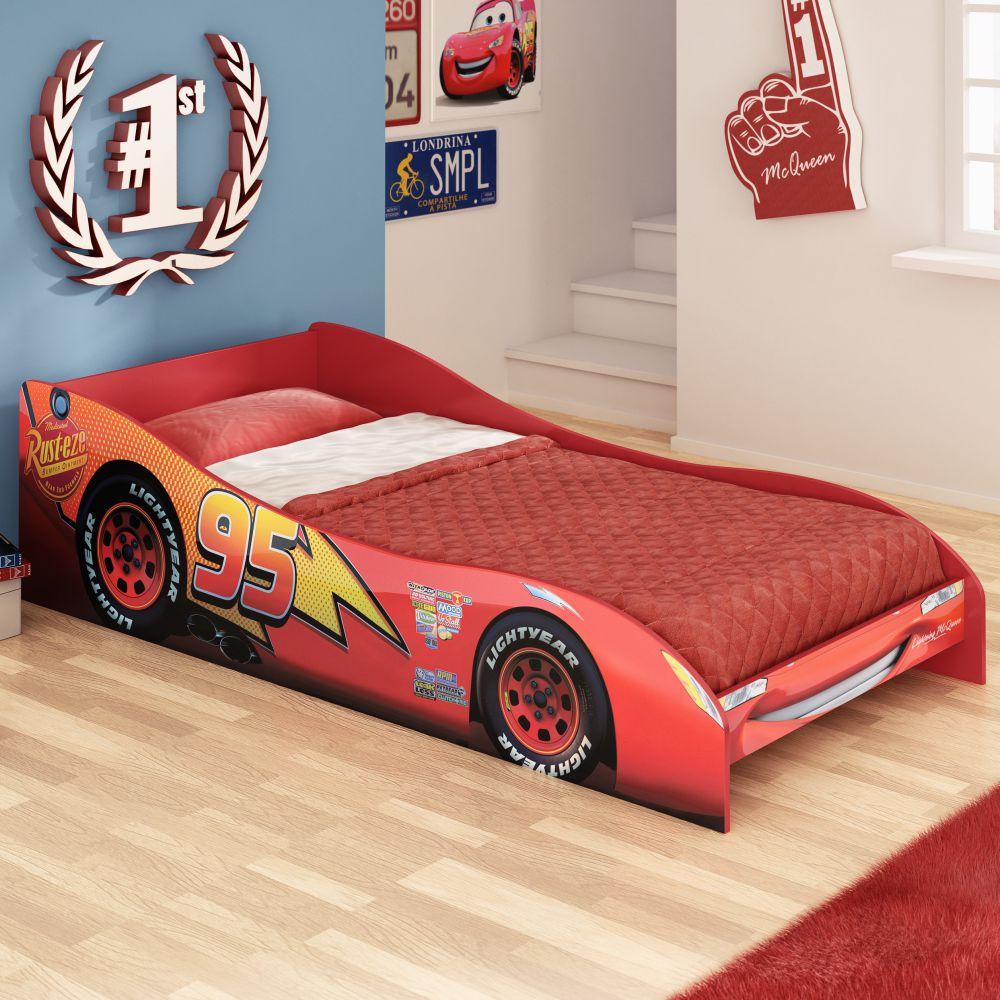 Mini cama infantil carros disney casatema casatema for Fabrica de camas infantiles