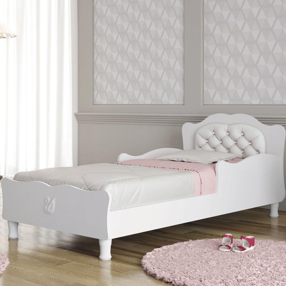 Mini cama infantil cristal clean com cabeceira estofada - Dosel para cama infantil ...
