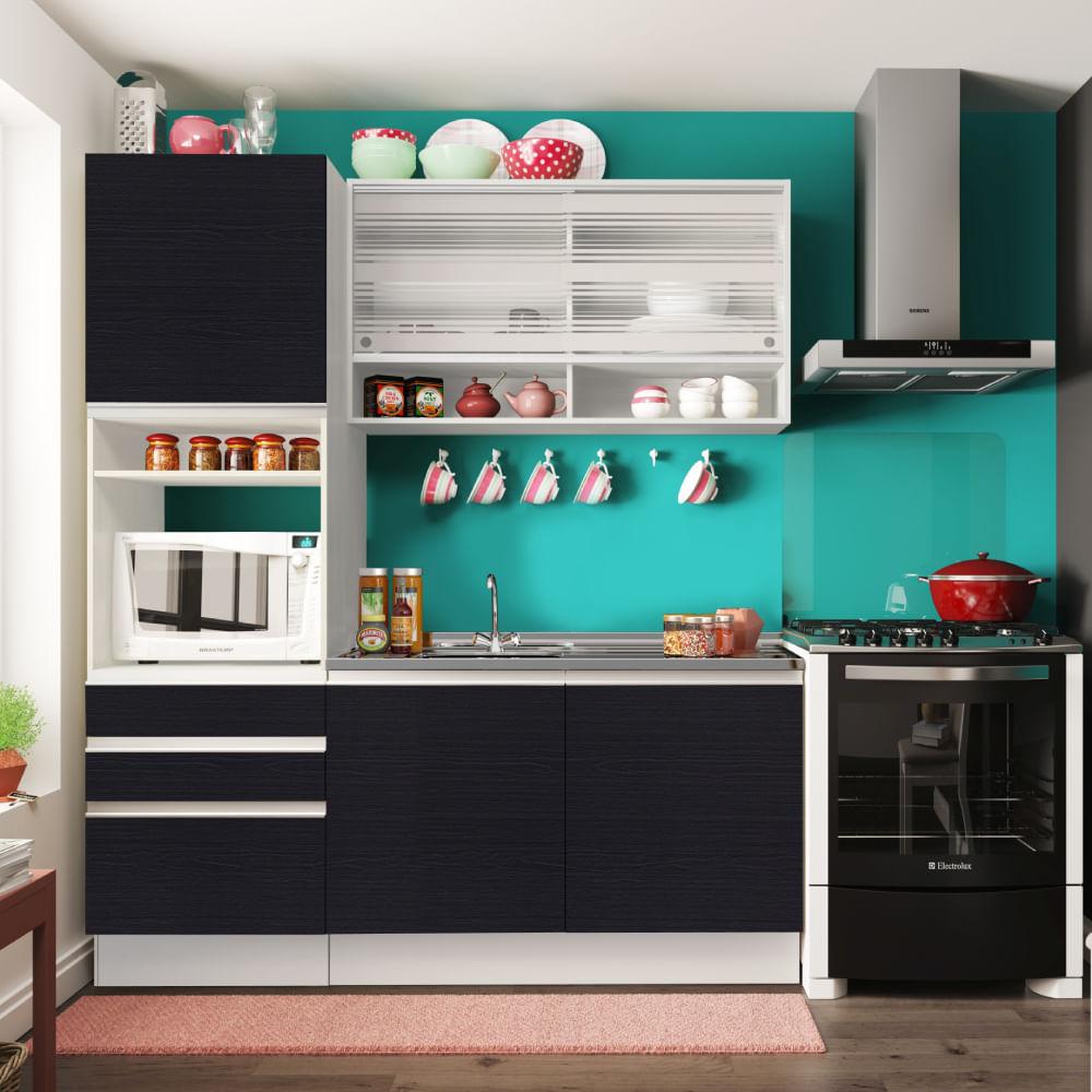 Cozinha Compacta Planejada Cozinha Planejada Com Bancada Foto