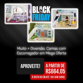 Banner Black Cama Escorregador Mobile