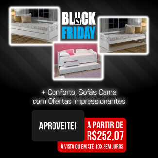 Banner Black Sofa cama Mobile