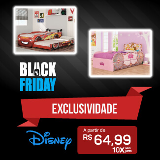 Banner Disney Fun Black Mobile
