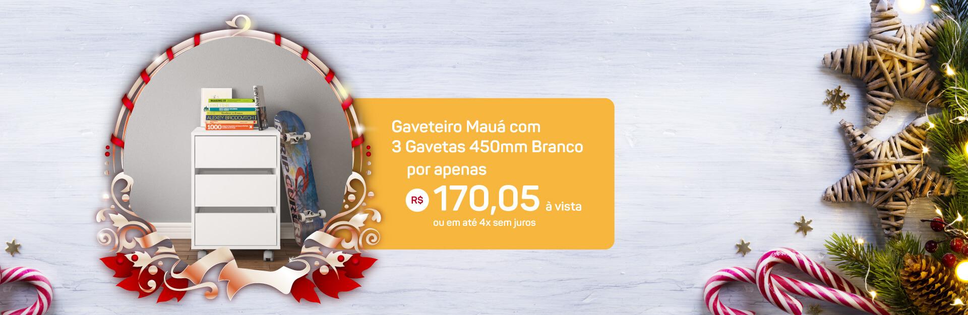 Banner Gaveteiro Natal