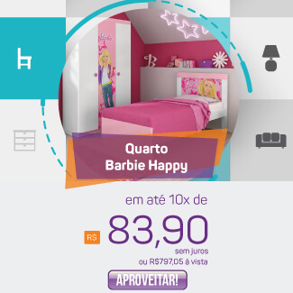 Banner Quarto Barbie Happy Mobile
