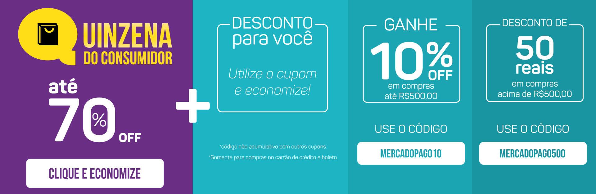 Banner Quinzena do Consumidor + Cupom