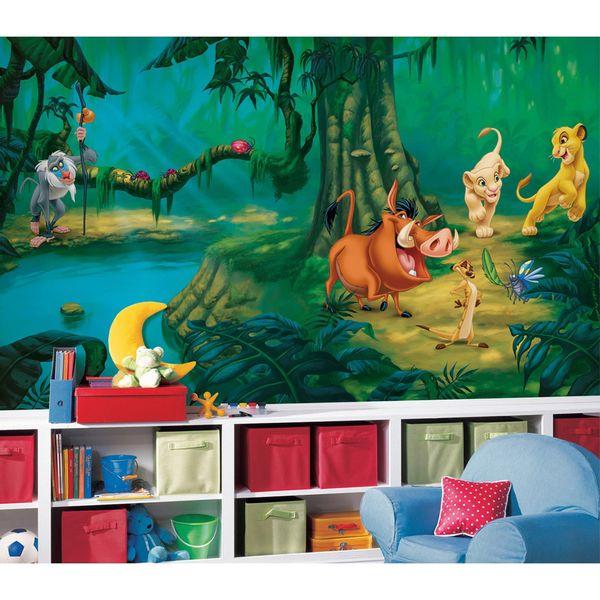 Mural_O_Rei_LeA£o_Disney_-_Roo_1