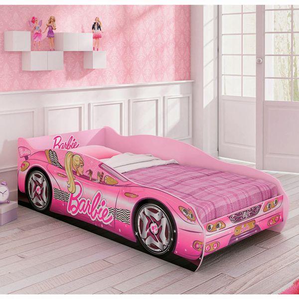 Mini_Cama_Infantil_Barbie_Rosa_1