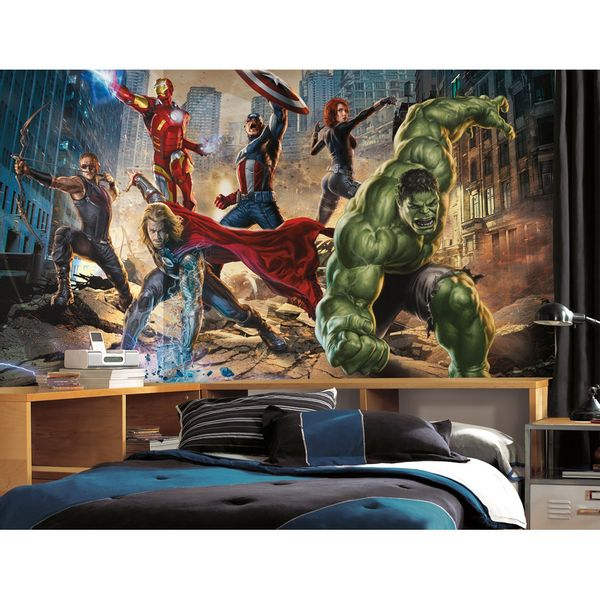 Mural_Os_Vingadores_-Avengers-_1