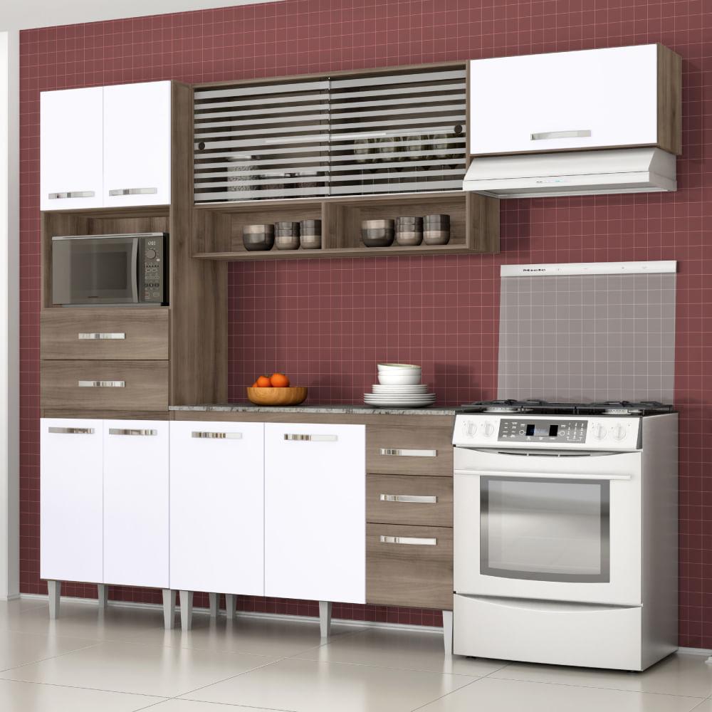 Cozinha Compacta Modulada Cozinha Modulada Solaris Cozinha