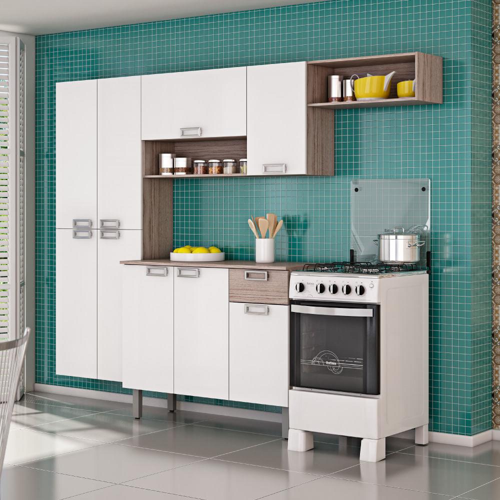 Cozinha Compacta Amora Paneleiro A Reos E Balc O Itatiaia Coimbra