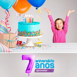 Banner aniversário mobile