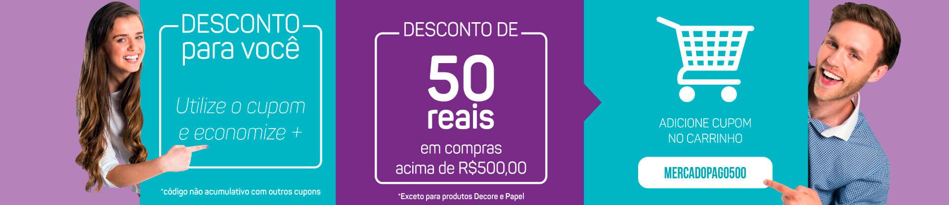 Banner Desconto 50 reais