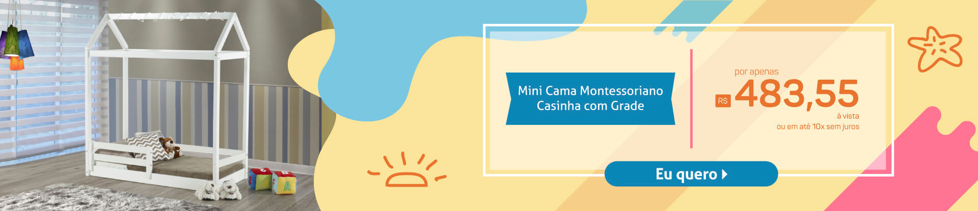 Banner Montessoriano Casinha