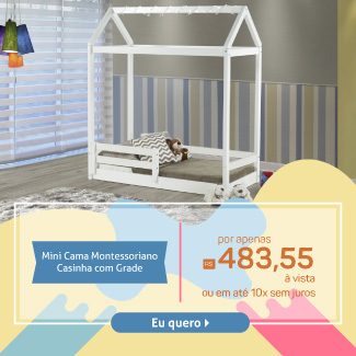 Casinha Montessoriano Mobile