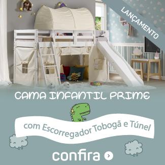 cama tobogã com túnel Mobile