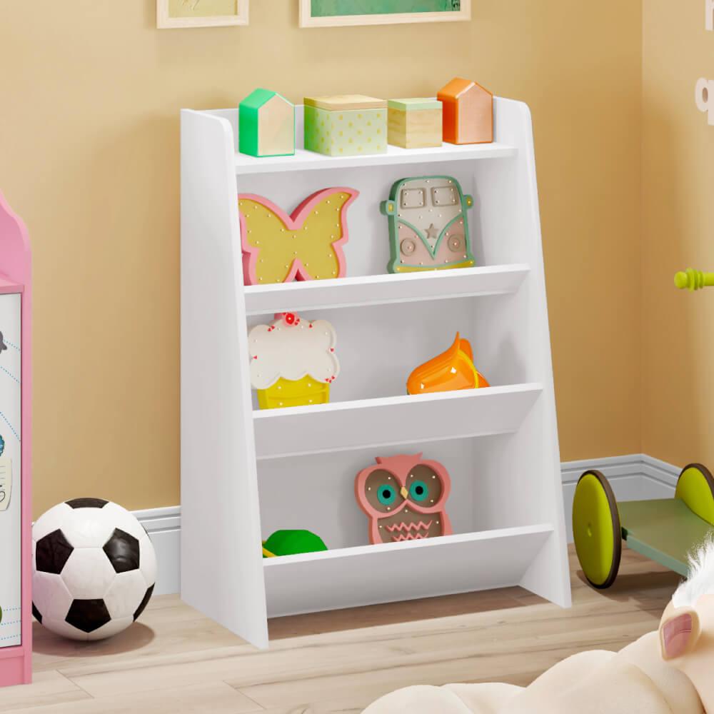 Estante Infantil Porta Brinquedos Teco 4 Prateleiras