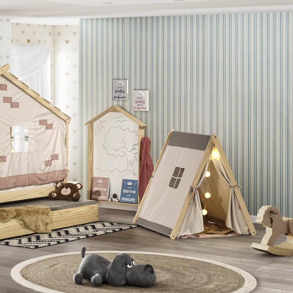 Cabana Infantil Casinha com tenda