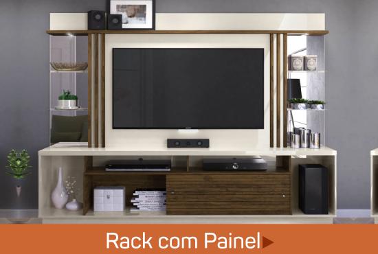 rack com painel