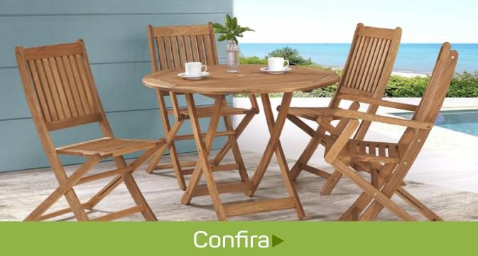 mesa e cadeira area externa