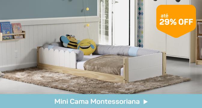 mini cama montessoriano