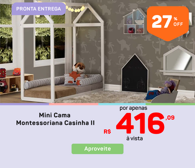 06-Mini cama casinha II Mob